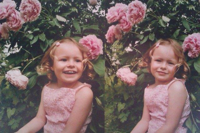 Blumenkind Sarah - als doppeltes Lottchen