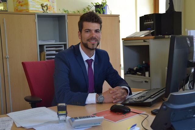 Lukas Polster leitet seit 1. Juni 2017 die Oberbank-Filiale in Zwettl.