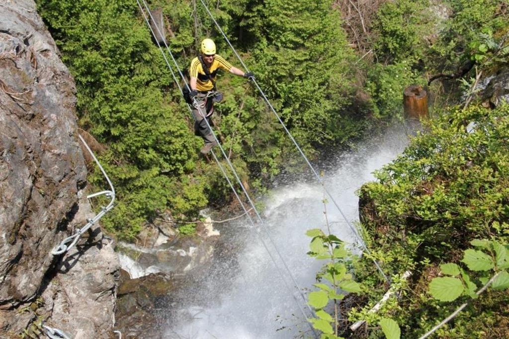 Klettersteig Talbach : Erlebnis talbach wasserfall schwaz