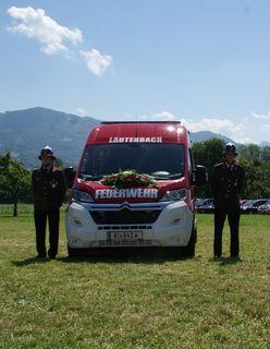 Das Fahrzeug ist seit Dezember 2016 als Ersatz für den alten KDO Fiat Ducato im Dienste der Feuerwehr Lauterbach.