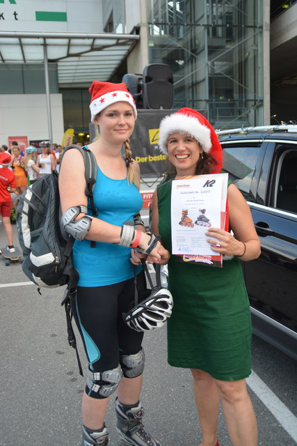 In dieser Woche konnte sich Marion Wille über den Gewinn von ein Paar K2 Skates im Wert von bis zu € 300,- freuen.