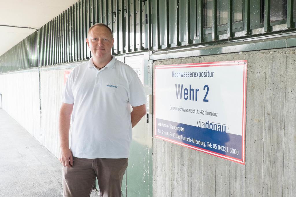 """Stefan Scheuringer hat Kulturtechnik an der Universität für Bodenkultur studiert und ist seit 2006 bei """"viadonau"""" tätig."""