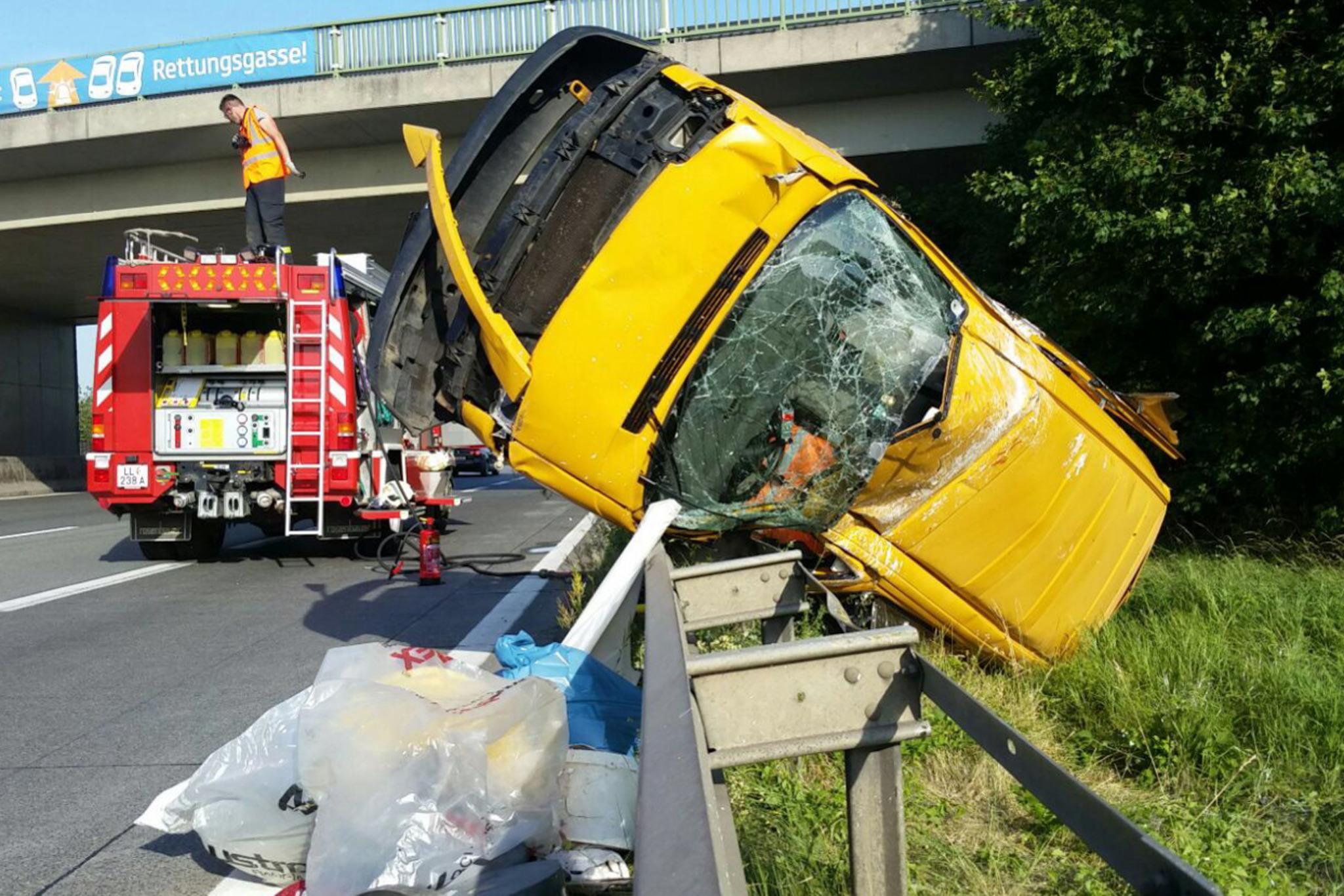Unfall A1 Gestern