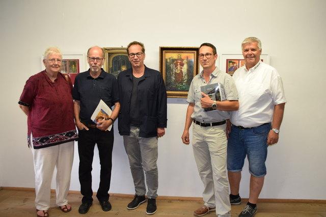 Martha Guggenbichler, Franz Geiger, Bgm. Wolfgan Jörg, Christoph Wachter und Christian Rudig.