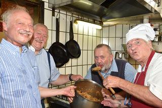 HR Mag. Friedrich Koprax, Ing. Hannes Stiastny, GR Peter Böö und Prof. Peter Surovic.