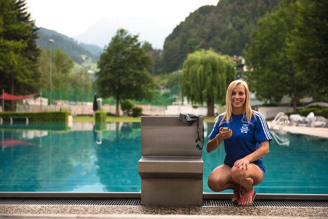 Sportlerin Eva Hergel ist Nachwuchstrainerin aus Leidenschaft beim TWV Landeck-Zams.