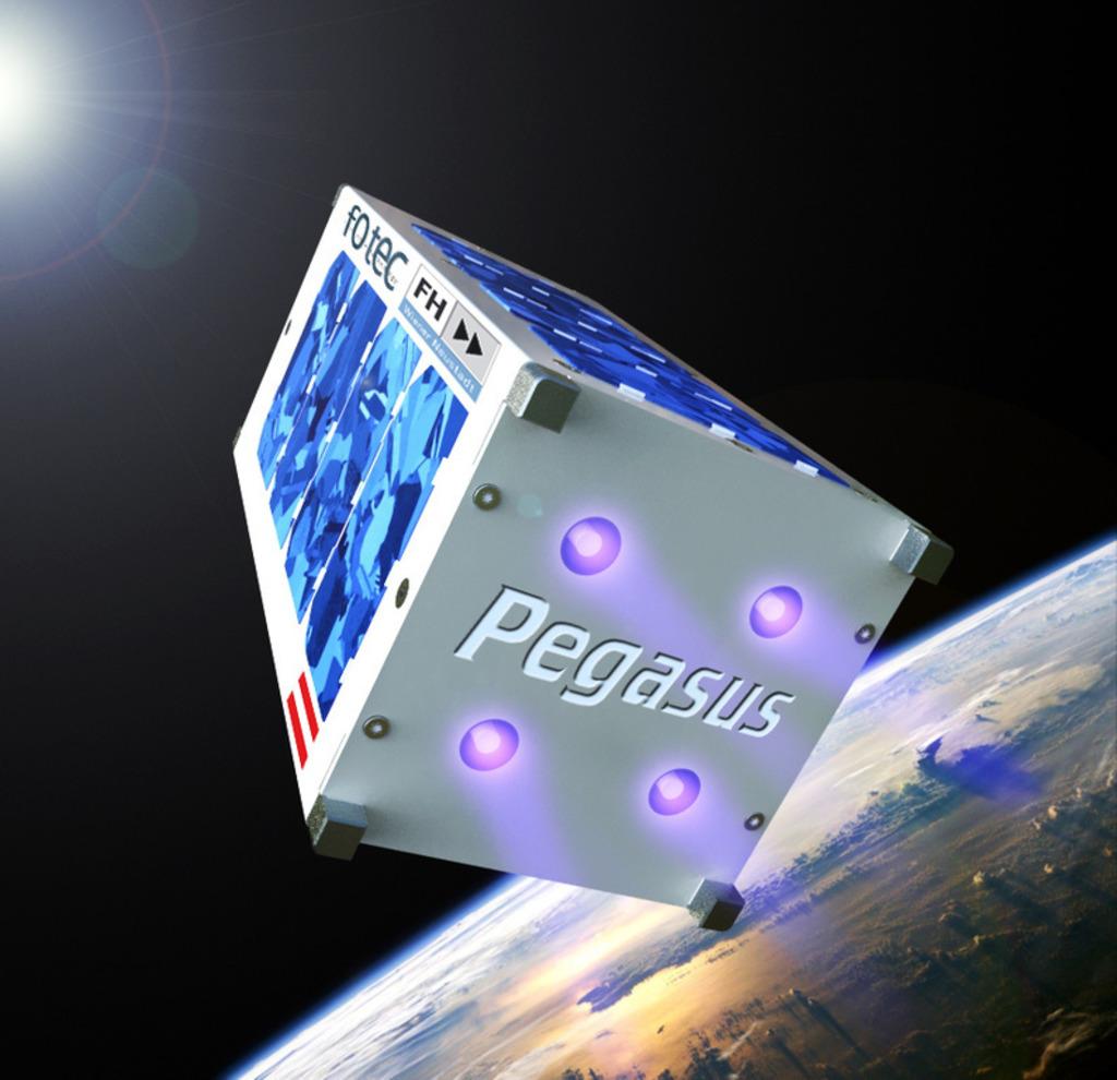 Pegasus, der erste NÖ-Satellit ist im Weltall. Alle Systeme funktionieren 100 Prozent!