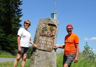 Koblbergpass auf 1044m - höchster Pass von OÖ