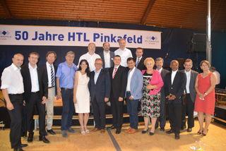 Zahlreiche Ehrengäste feierten mit der HTL ihren Geburtstag.