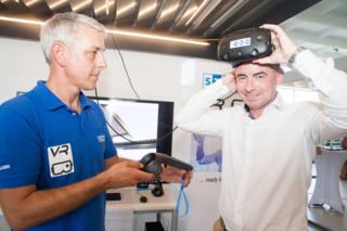 Martin Egger (VR Spezilaist) und Markus Horvath (CEO STOBAG Österreich)