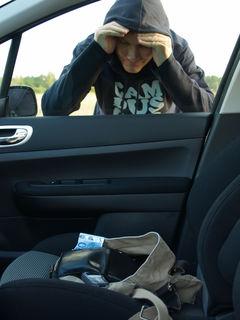 In Bad Goisern wurde in drei Autos eingebrochen.