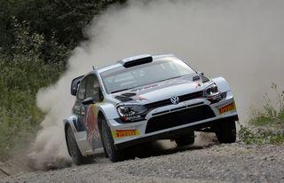 Baumschlager/Winklhofer im VW Polo R WRC