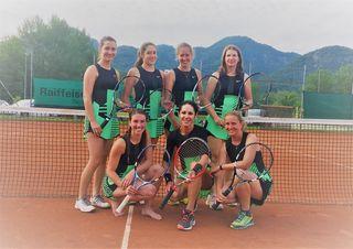 Ischls Tennisdamen konnten in der vergangenen Runde einen 6:1-Sieg bejubeln.