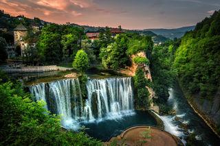 Vodopad / Wasserfälle