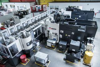 Die Produktionshallen bei GPN verfügen über einen modernen Maschinenpark