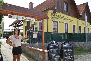Sabrina Kreuzberger ist die neue Hausherrin der Babenberger Stuben.