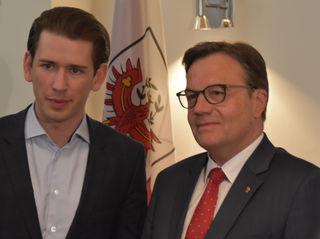 """""""Österreich braucht den Aufbruch und Sebastian Kurz ist der richtige Mann dafür"""", sagt Günther Platter."""