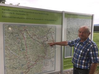 Die Paradiesroute führt auch durch die Gemeinde Loipersdorf-Kitzladen.