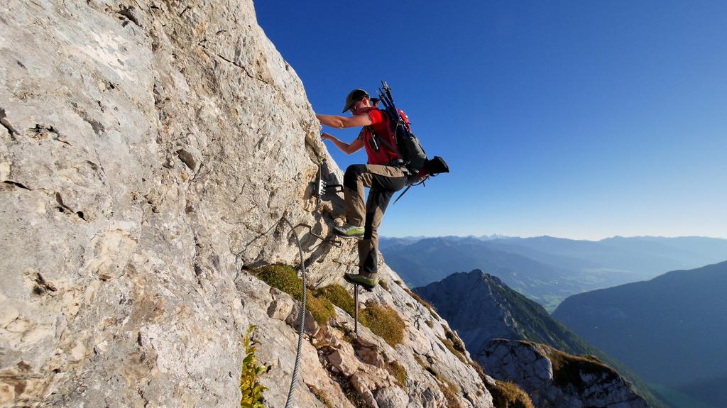 Klettersteig Achensee : Klettersteig rosskopf achensee gipfel youtube