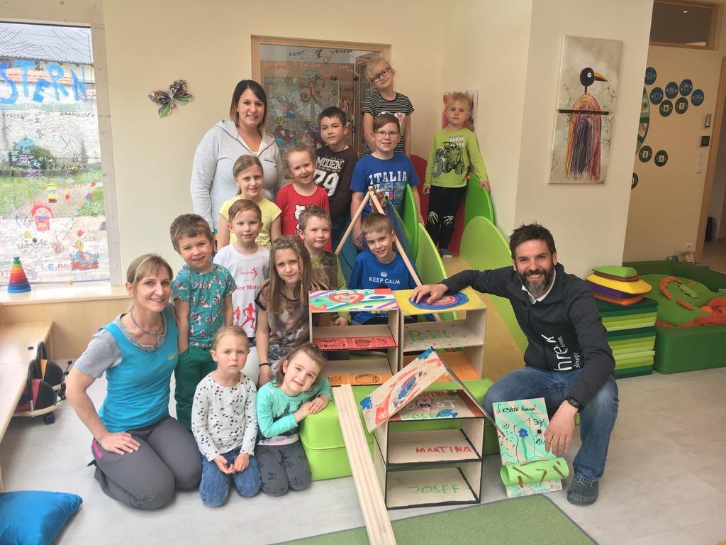 Kinder Arbeiten Mit Holz Zwettl