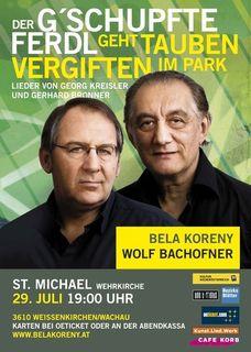 Bela Koreny und Wolf Bachofner