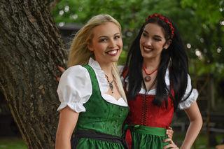 Magdalena Leitner (l.) und Andrea Jörgler beim Finale. Foto: MAC/Conny Pail