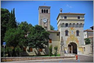 Der Torturm, Eingang zur Abtei