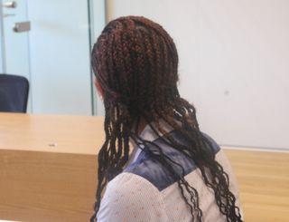 Carmen Veronica G. (25) wollte ihr Gesicht nicht zeigen.