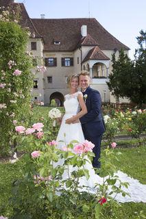 Katharina Hernuss-Gutschi und Daniel Gutschi feierten am 17. Juni ihre Hochzeit.