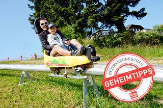 Der Grünberg-Flitzer in Gmunden