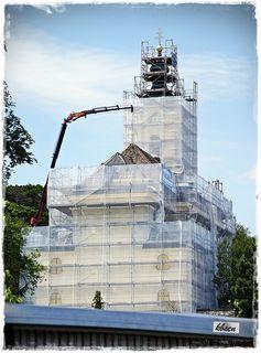 General Aussensanierung der Rodauner Bergkirche