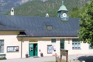 Romy Schneider Ausstellung Am Königssee, Schönau im  alten Bahnhofsgebäude