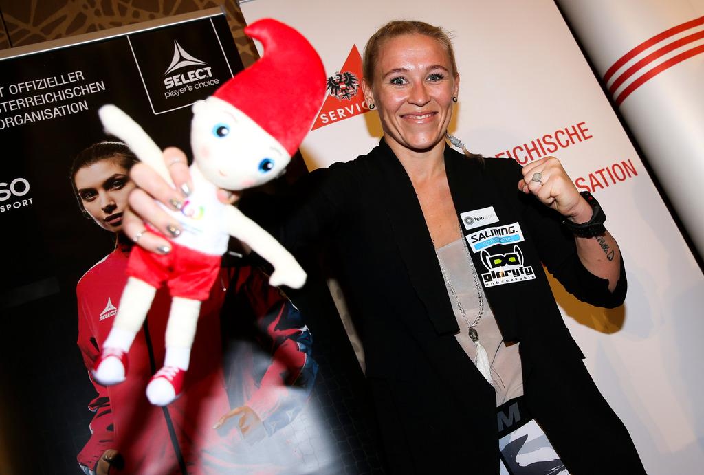 Die Grazerin Christin Fiedler vertritt Österreich bei den World Games im K-1, einer speziellen Form des Kickboxens.