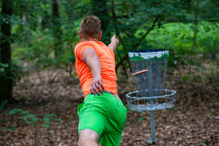 Disc Golf kann man ab sofort auch am Kreischberg spielen. Foto: Kreischberg
