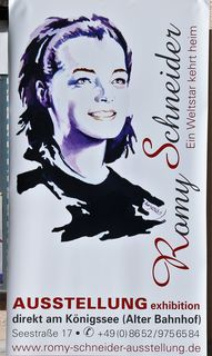 Info, Romy Schneider Ausstellung
