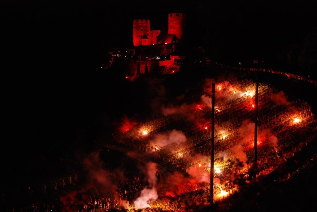 """Am 22. Juli heißt es wieder """"Schilcherberg in Flammen""""."""