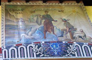 Wandbild in Schönau am Königssee