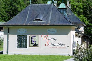 Alter Bahnhof, Romy Schneider Ausstellung in Schönau am Königssee