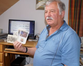 Sepp Gruber ist Hobby-Historiker, -Archivar oder -Ahnenforscher.