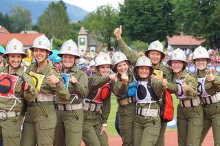 Es war die bereits vierte internationale Goldmedaille für die Wettkampfgruppe der Feuerwehr Rudersdorf-Berg.