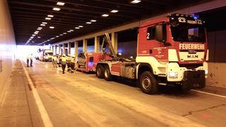 Vier beteiligte Autos, acht Verletzte, 20 Personen im LKH Villach: Die Bilanz des Verkehrsunfalls auf der A10