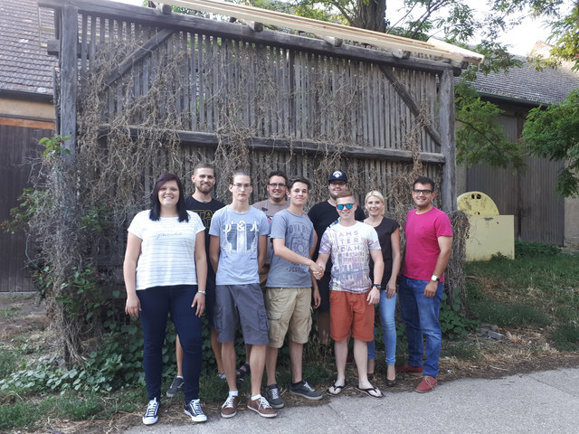Nicole Lunzer, Moritz Wendelin, Lukas Wendelin, Stefan Pal, Andreas Resch, Florian Spalek, Thomas Gamauf, Viktoria Schreiner, LAbg. Kilian Brandstätter.