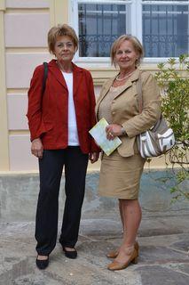 Helga Klement und Elfriede Schlögl spüren Lebensfreude.