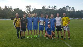"Hangover 96 hat den ""2. Hauptsach s'Bier is koit-Cup"" am Samstag, 15. Juli, in St. Aegidi. gewonnen"