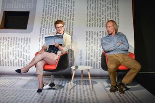 Begeistern als Maria und Paul: Rita Dummer und Stephan Lewetz