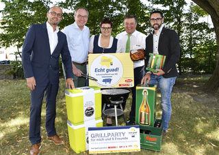 """""""So schmeckt Niederösterreich"""": Nicole Gierer aus Münichreith gewann eine Grillparty für zehn Personen."""