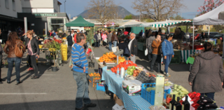 Der Wochenmarkt-Termin unmittelbar vor dem Villacher Kirchtag stand auf der Kippe