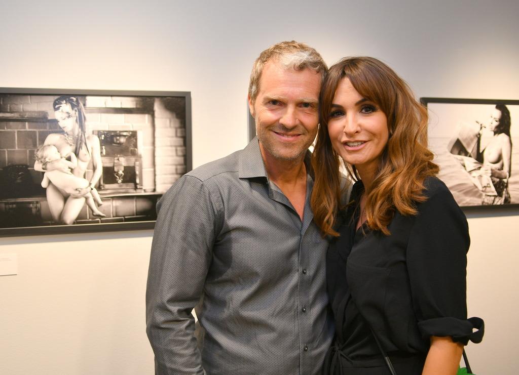 Fotograf Manfred Baumann mit seiner Nelly.