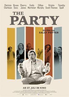 """""""The Party"""" ist ein hochkonzentriertes Drama in ausdrucksstarken Schwarz-Weiß-Bildern. Der Film ist ab 28. Juli im Hollywood Megaplex PlusCity zu sehen."""