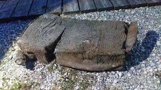 Dieser Wrackteil wurde im Neusiedlersee gefunden.